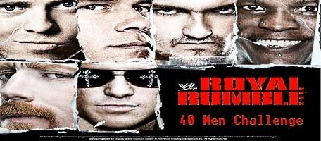 Le match phare de ce Royal Rumble 2011 : combat opposant 40 catcheurs