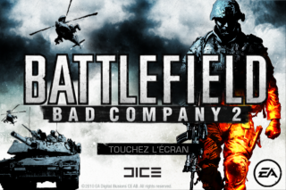 BlogiPhone : Test de Battlefield Bad Company 2 sur iPhone/iPod Touch
