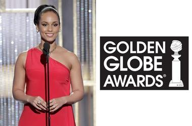 Alicia Keys était aux Golden Globe Awards !