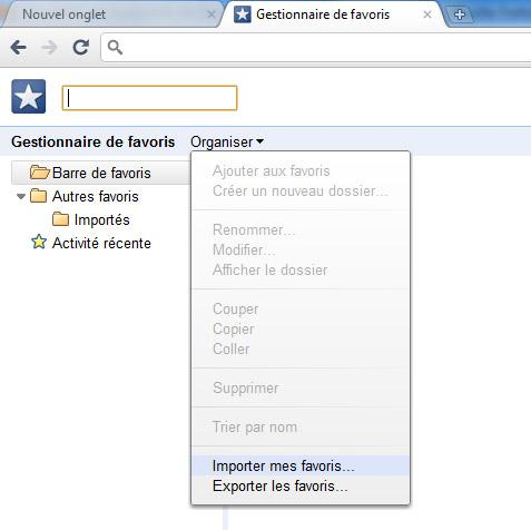 Exporter vos bookmarks Delicious vers Chrome ou Firefox.