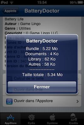 Plus d'infos sur votre iPhone !