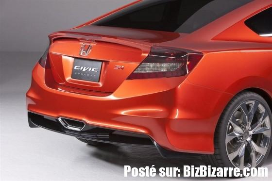 auto civic coupe concept nouveau NOUVELLE HONDA CIVIC SEDAN ET HONDA CIVIC COUPE 2011  CONCEPT