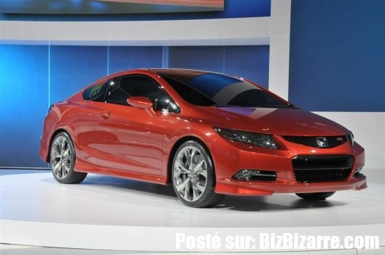 auto honda civic coupe concept 2011 NOUVELLE HONDA CIVIC SEDAN ET HONDA CIVIC COUPE 2011  CONCEPT