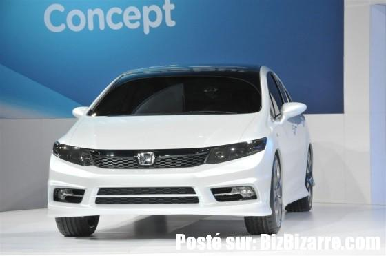 auto civic sedan 2011 2012 NOUVELLE HONDA CIVIC SEDAN ET HONDA CIVIC COUPE 2011  CONCEPT