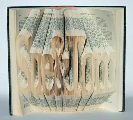 De l'Art avec des livres par Isaac Salazar