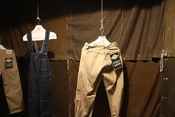 EDWIN – JAPANESE OVERWORKS FACTORY – F/W 2011 COLLECTION PREVIEW