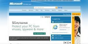 Le site de Microsoft change de design