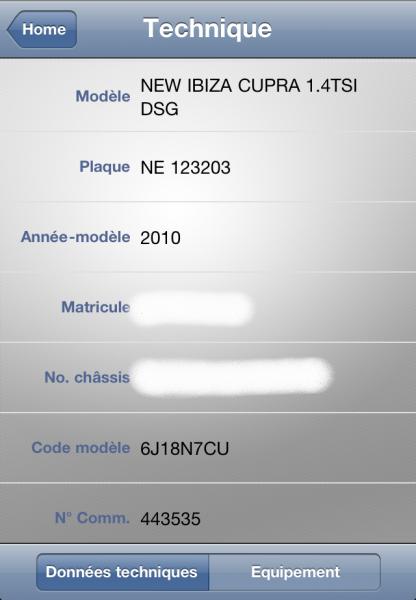 myAMAGcar – Application iPhone pour votre Audi, VW, Seat et Skoda - Officielle et utile