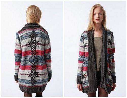 Take me back to… the navajo print