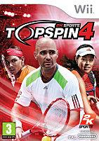 2K TOP SPIN 4 Wii Packaging