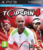 2K TOP SPIN 4 PS3 Packaging