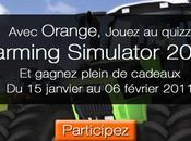 Gagnez cadeaux avec Farming Simulator 2011