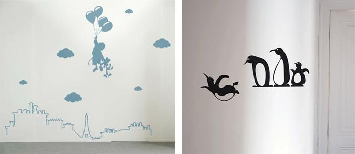 Stickers muraux pour chambre d enfants paperblog for Stickers deco chambre garcon