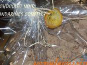 Parce l'espoir renait, parce reprend... bombe calorique truffes chocolat noir-mandarines confites