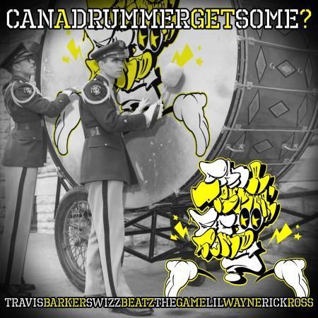 Travis Barker ft. Swizz Beatz, LiL Wayne, Rick Ross & Game – Can A Drummer Get Some?