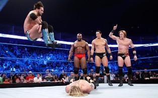 Le Champion du Monde Poids Lourds de la WWE succombe face à The Corre de Wade Barrett