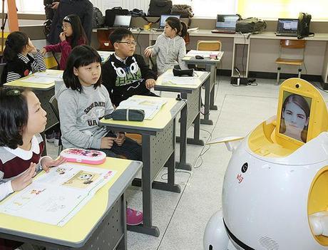 Engkey, le robot professeur d'anglais