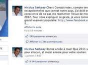 Nicolas Sarkosy s'est fait pirater page officielle Facebook