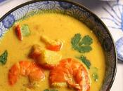 Curry gambas ananas