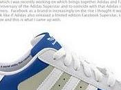 Social Network Shoes: Adidas Facebook Twitter