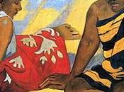 Femmes Tahiti Paul Gauguin