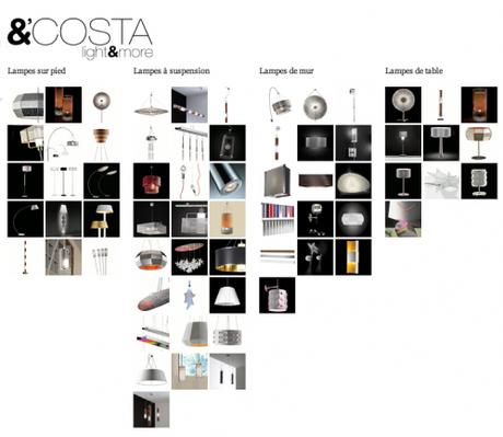 Maison & Objet 2011 – les luminaires par &'Costa