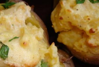 pommes de terre surprise...weight watchers...pour bien