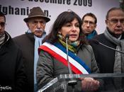 Rassemblement pour pose portraits journalistes France
