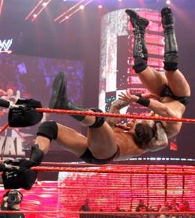 The Viper règle ses comptes avec The Miz lors du Royal Rumble 2011