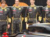 Bruno Senna Romain Grosjean chez Lotus Renault