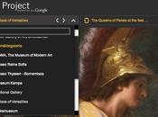 Google project: Visiter musée depuis chez vous..