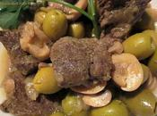 sauté veau olives