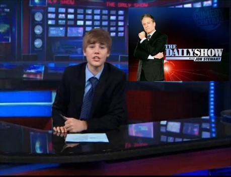 Justin Bieber : Le nouveau présentateur du DailyShow ! (Vidéo)