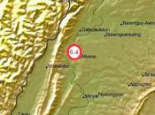Février, violent séisme secoue Nord-Ouest Birmanie. Silence radio autorités.