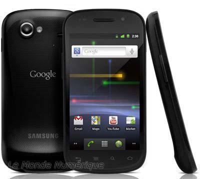 Le Google Phone Nexus S disponible chez SFR à partir du 18 février
