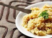 Quinoa bière chèvre frais façon risotto