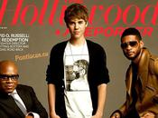 Justin Bieber couverture Hollywood Reporter