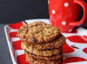 Biscuits flocons d'avoine, beurre cacahuètes pépites chocolat