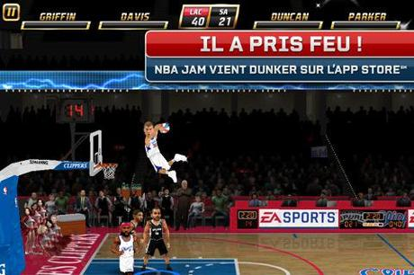 EA Sports propose NBA JAM pour iPhone/iPod Touch