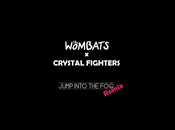 Wombats 'Jump Into Fog' (Remix) Crystal Fighters