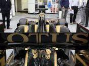 mécaniciens Lotus Renault boulot