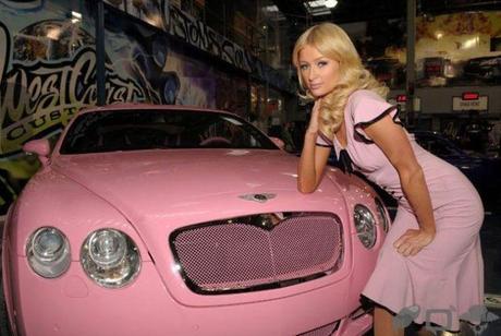 la nouvelle bentley de paris hilton 001 La nouvelle Bentley de Paris Hilton