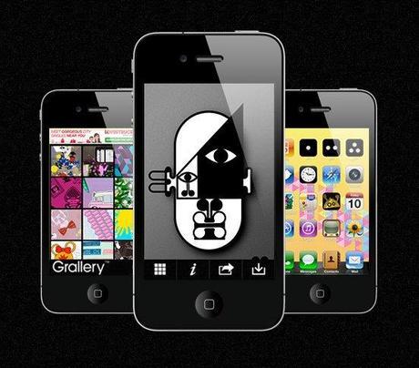 Grallery: Des fonds d'écran design pour votre iPhone...