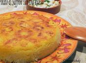 Potato Saffron (Crunchy Persian Rice) pommes terre safran (Riz persan croustillant)