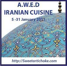 A.W.E.D event announcement – Mast va khiar, iranian cucumber salad – salade iranienne au concombre