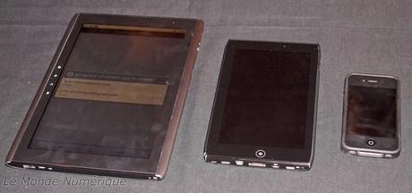 MWC 2011 : Acer va lancer une tablette tactile de 7 pouces, l'Iconia Tab A100