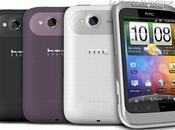 2011 Nouveau smartphone Wildfire