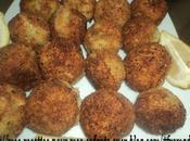 Croquette pomme terre farci viande hachéé panées