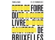 Foire livre Bruxelles pointés vendredi février