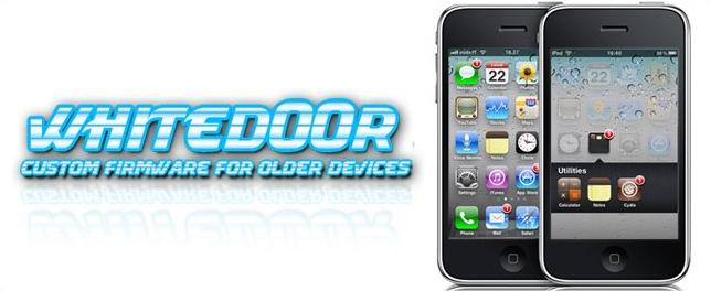 Whited00r 4.2 : Custom firmware pour iPhone EDGE/3G et iPod 1G/2G